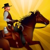 Cowboy Horseback Riding Obstacle Race : The horse agility dressage - Free Edition