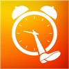 Айфон / iPad үшін Step Out Of Bed! Smart alarm clock to get awake early with a tricky and awakening steps counter - Best alarm app to wake up on time with alarmy music ringtone бағдарламалар