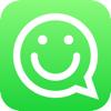 Stickers Free for WhatsApp, Telegram, Kik, GroupMe, Viber, Snapchat, Facebook Messenger, VK, Tumblr, Instagram & WeChat - Emoji & Gif Animated Sticker