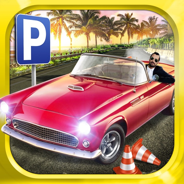 classic sports car parking simulator gratuit jeux de voiture de course dans l app store. Black Bedroom Furniture Sets. Home Design Ideas