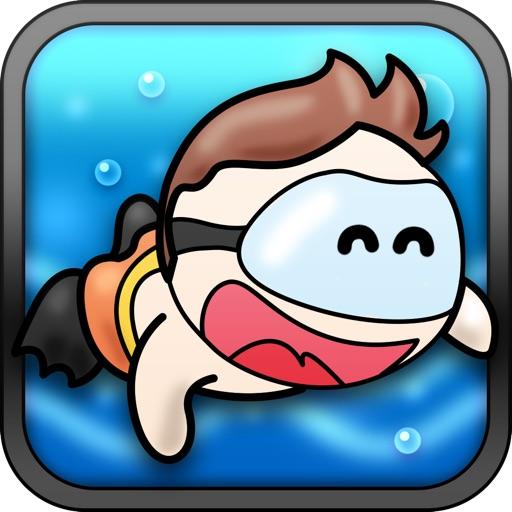 A Tiny Divers Mega Adventure Game Free - Dive and Swim Fun iOS App