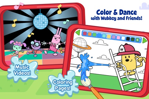 Wubbzy's Fire Engine Adventure screenshot 4