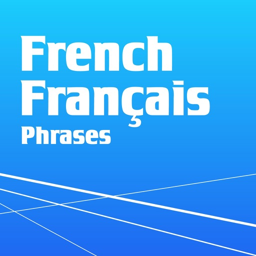 Learn French - Phrasebook for Travel ・Study ・ Business - free offline language words phrases vocabulary learning with audio pronunciation voice for course beginner,kids to speak in France Icon
