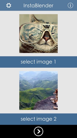 InstaBlender - Double Exposure and Superimpose Image Blender Screenshot