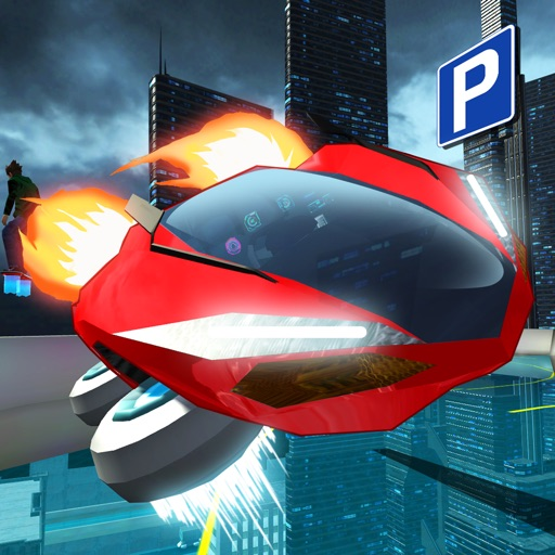 Hover Car Parking - Flying Car Hovercraft City Racing Simulator Game PRO iOS App
