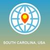 South Carolina, USA Map - Offline Map, POI, GPS, Directions