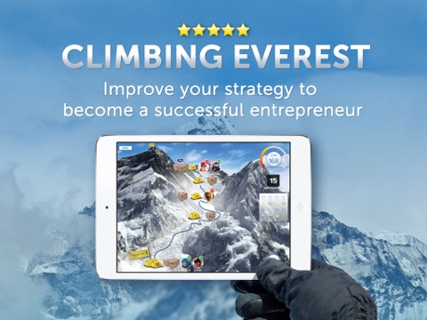 Climbing Everest: What is your entrepreneurial strategy? screenshot 1