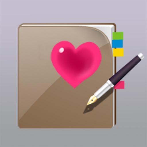 幸福日记 + 快乐存折 + 浪漫笔记本 +幸运记事本 + 欢乐时光回忆 + 美好日历