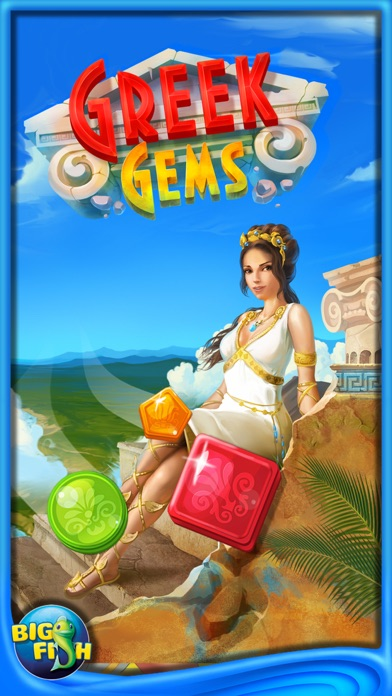 Greek Gems - A Collapse Game-4