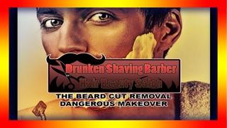 Screenshot von betrunkenen Barbier rasieren Haar Beauty-Salon: der Bart geschnitten Entfernung gefährlicher Verjüngungskur - Gratis-Edition1