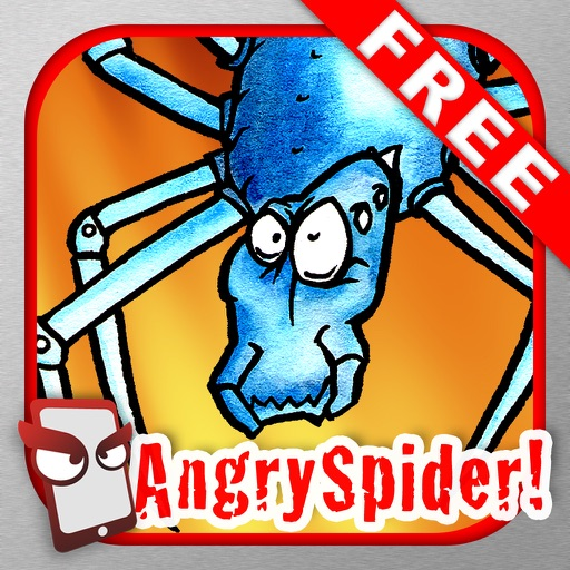 AngrySpider Free - The Angry Spider Simulator iOS App