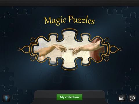 Волшебные пазлы: знаменитые картины для iPad