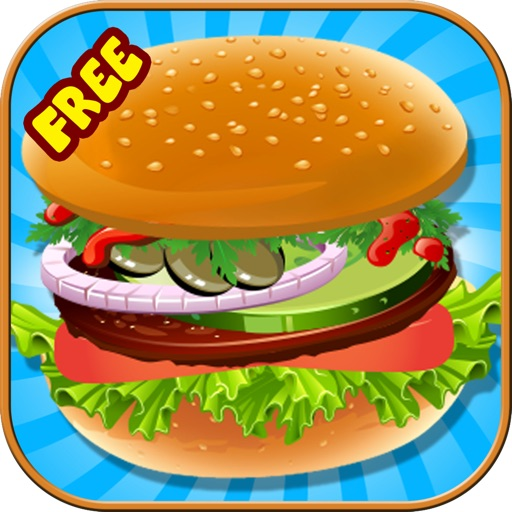 Burger Maker - Cooking Game for Kids, Boys and Girls iOS App