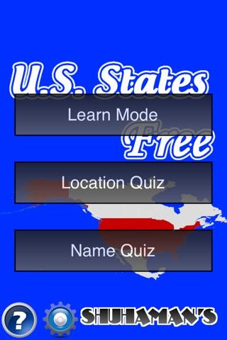 U.S. States Free screenshot 1