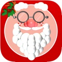 Santa Me Christmas Photo Booth – make yourself and yr friends into Santa, a Snowman and other festive Holiday Fun! icon