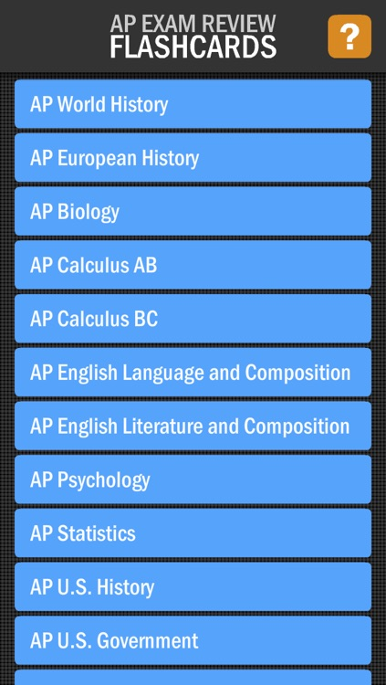 AP Exam Review Flashcards LITE by K12 Inc