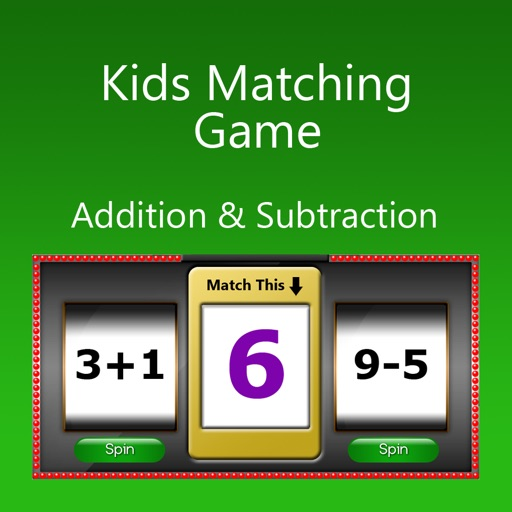 Kids Matching Game - Addition & Subtraction iOS App