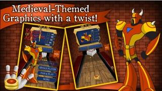 Knights of Bowling Alley Lite :人気のクールなボーリングゲーム - 子供のための最高の楽しみトップ10のピンボールゲーム - 病みつきと面白い3Dスポーツ無料アプリ - カジュアル多人数物理アプリのスクリーンショット5