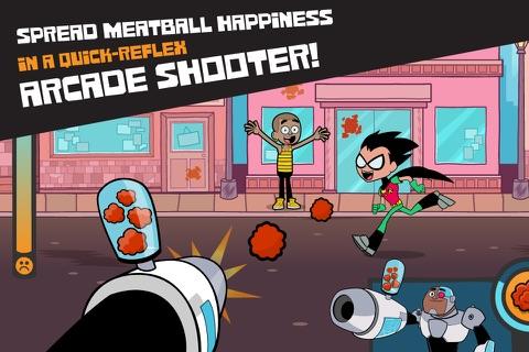 Screenshot of Teen Titans Go Arcade