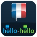"French – Learn French (Hello-Hello) ""for iPhone"" icon"