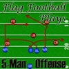 5-Man Flag Football Plays-Offense