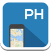 Philippines & Manila offline map, guide, weather, hotels. Free GPS navigation.