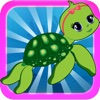 Turtles! - Tiny Baby Turtles VS. Ocean Monster Fish Catch Game