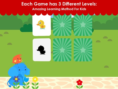 Matching Elephant - Early Learning Games For Toddler and Preschooler To Learn Numbers,Alphabet,Colors,Shapes,Basic Skills screenshot 4