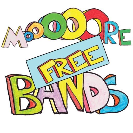 Mooooore Bands Free iOS App