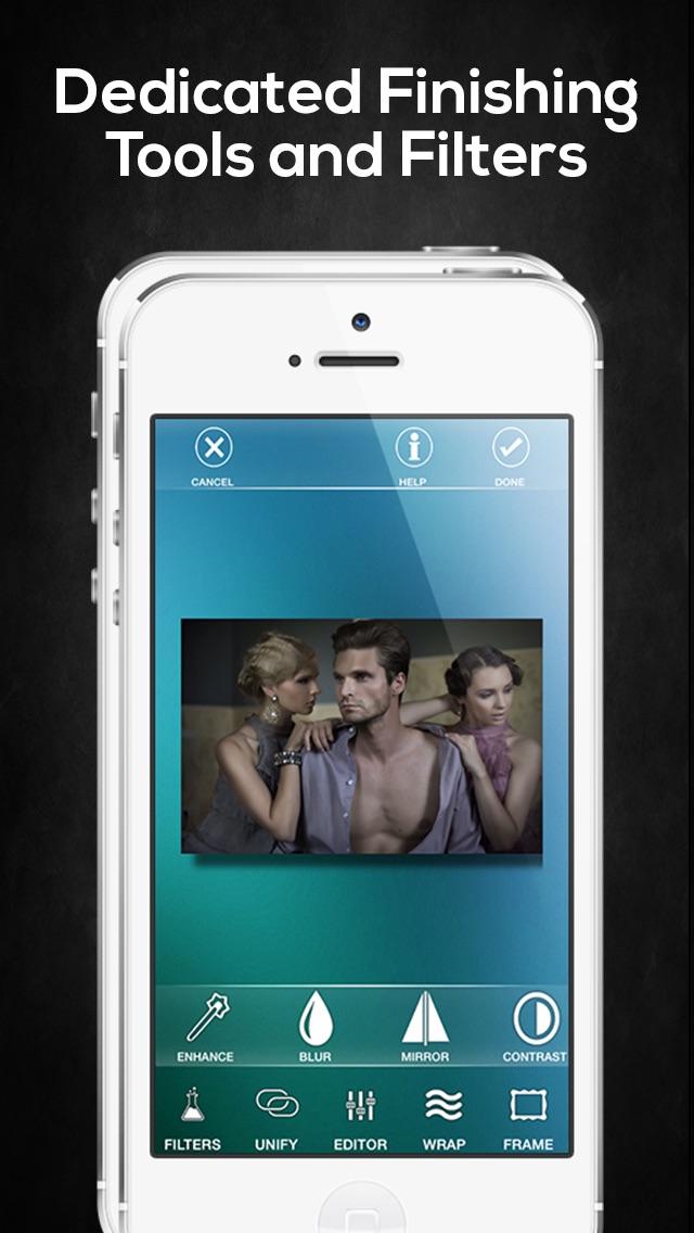 Wrapcam — редактор фотографий и спецэффектов Скриншоты5