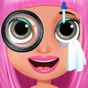 Crazy Little Celebrity Eye Doctor in Baby Vet Pet Ambulance to Make Up and Rescue Fashion Kids games