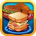 A Lunch Maker Fast Food Cooking Salon - cook my kids burger meal!