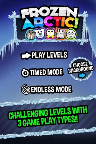 Frozen Arctic - Fun Match Three Puzzle Game screenshot 3
