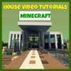 Houses For Minecraft Video Tutorials - House Building Guide, Mansions, Stadiums, Beach House & More!