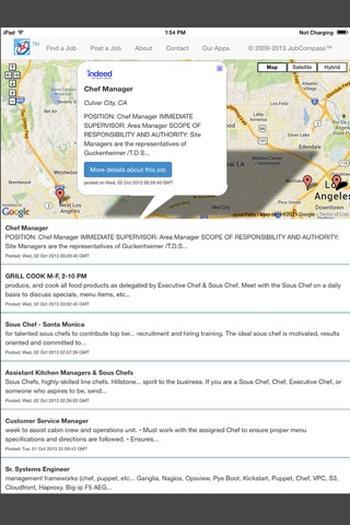 JobCompass - Find millions of jobs near you in over 55 countries screenshot 3
