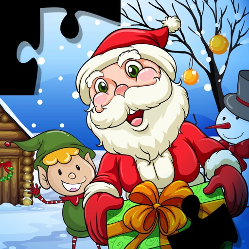 Christmas Puzzle Party: Santa Claus Jigsaw Game - Pro Edition Icon
