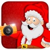 Santa's Frame Maker: Face Tune Photo Editor with Space Effect Studio