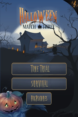Halloween Match Three screenshot 1