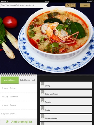 Thai Cooking Recipes screenshot 3