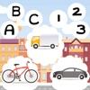 123 & ABC Auto Fahr-Schule!Kostenlos App Für Kinder: Mehr Spiel-Spaß&Super Fahrzeuge Gratis, Kleinkinder+Baby: auto fahren Mathe Aufgaben und logische Herausforderung!Lerne Buchstabieren,Schreiben,Rechts&Links,Zählen