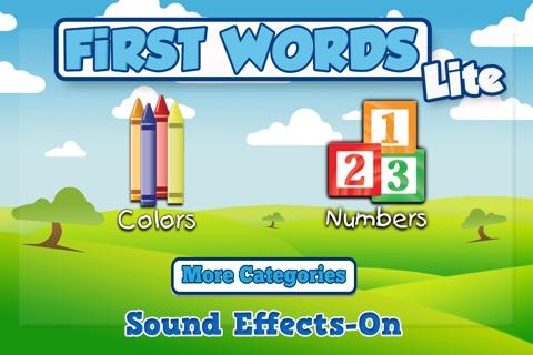 First Word's Lite screenshot 1
