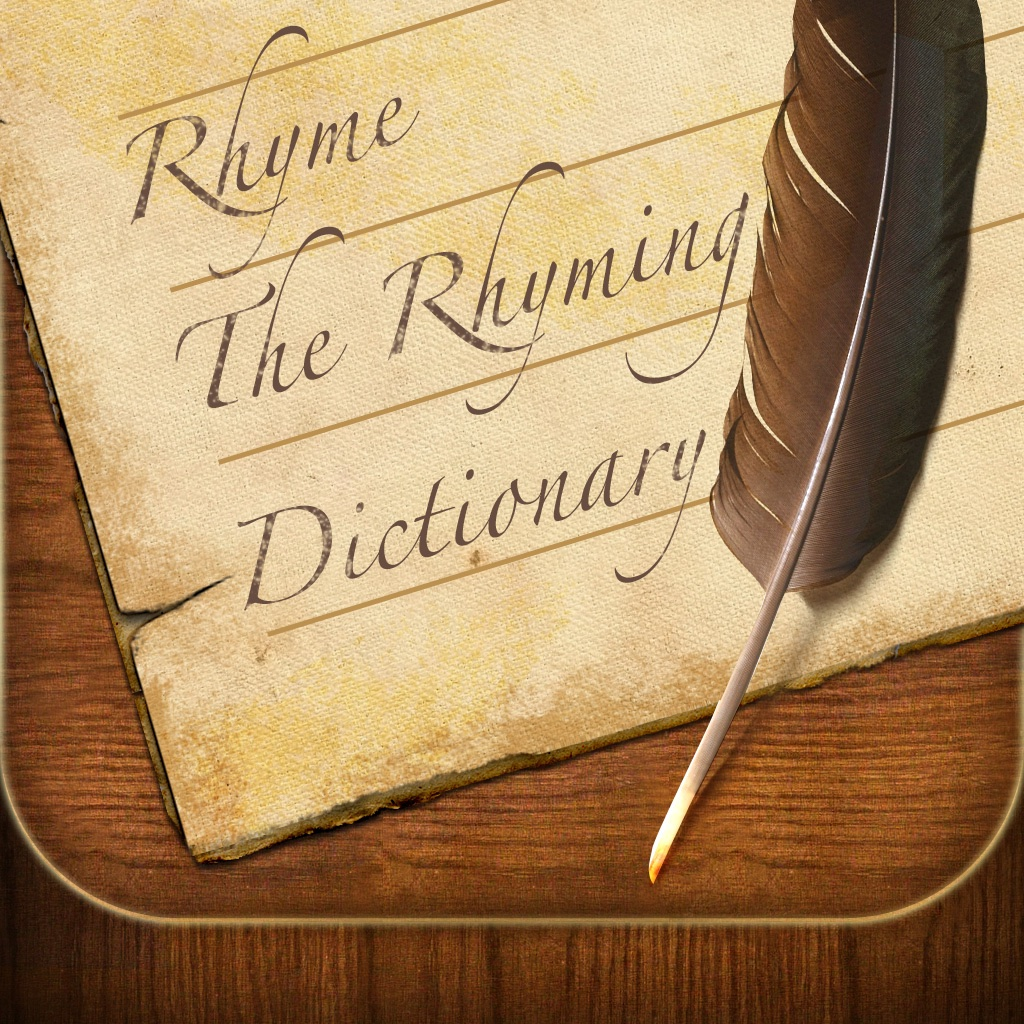 Rhyme - The Rhyming Dictionary icon