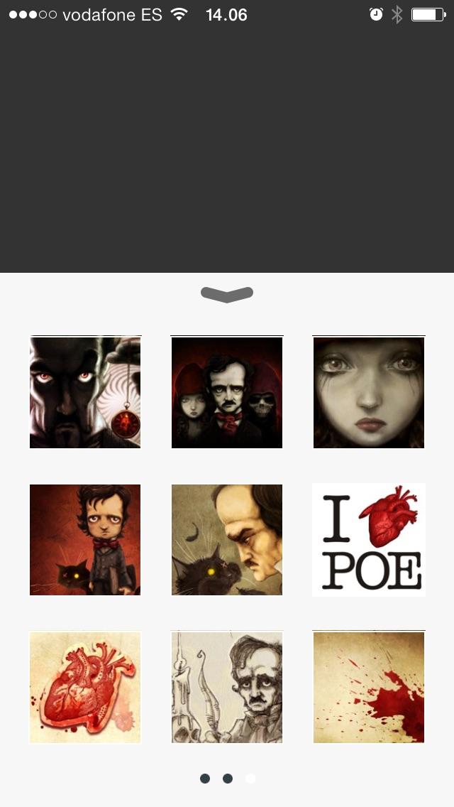 Screenshot #7 for Edgar Allan Poe - Wallpapers
