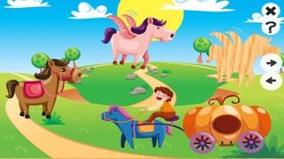 Animaux Animés et des Chevaux de Puzzle en Féerie - Gratuit Pour Les Enfants Jeu Pour Erlenen de la Logique et de la Découverte de Formes, Jeu D'apprentissage Pour Les Enfants et des Bébés Pour la Formation de la MémoireCapture d'écran de 3