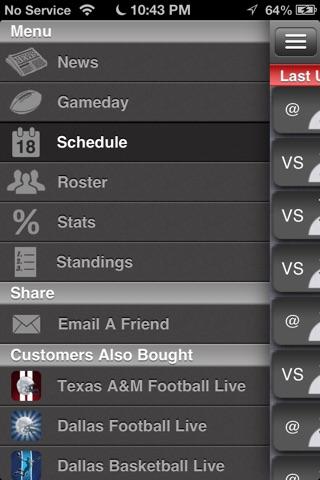 Texas Tech Football Live screenshot 2