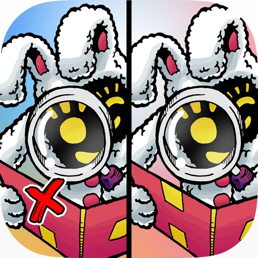 涂鸦板找你妹:Hidden Doodles Differences