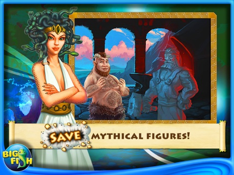 Greek Gems - A Collapse Game-ipad-2