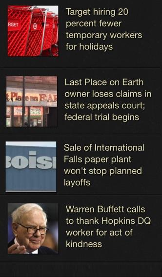 Local News review screenshots