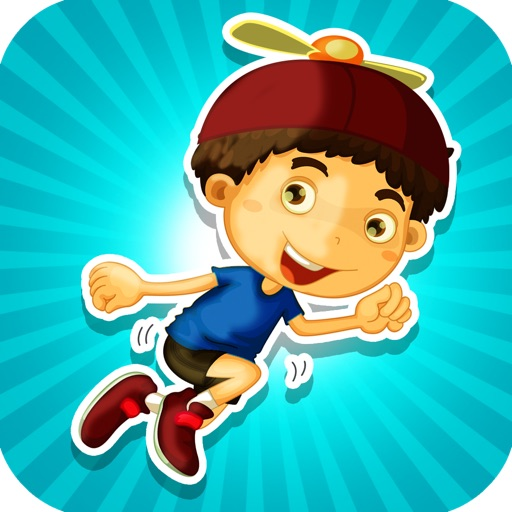 Helicopter Kid Harry Challenge PAID - Extreme Jump and Collect Rush Game iOS App