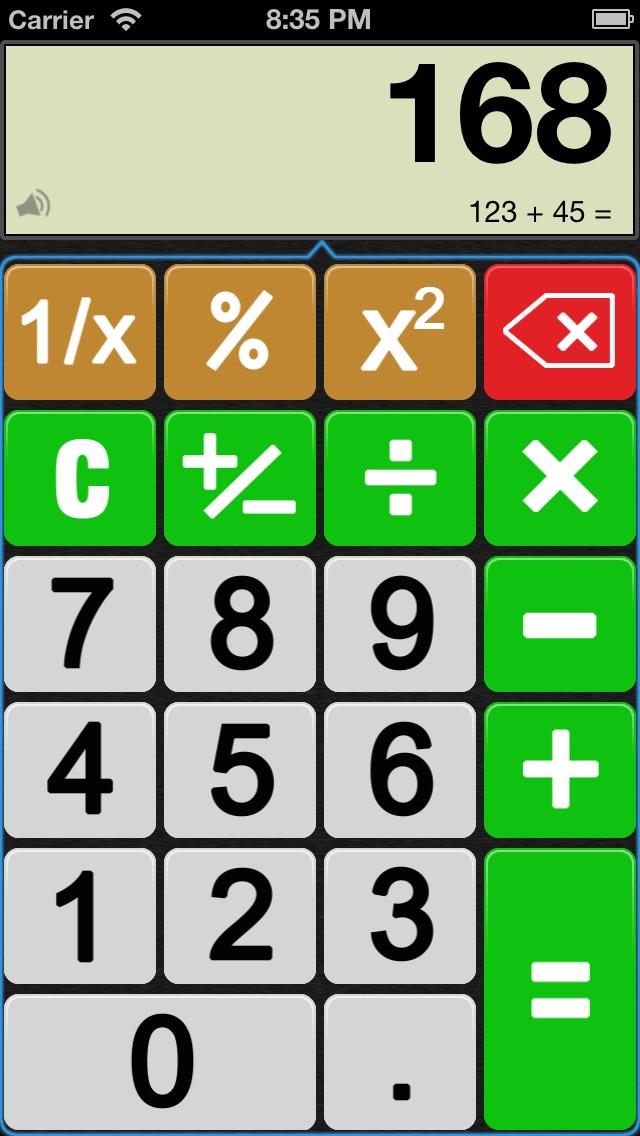 Screenshot #4 for iEasily Calculator